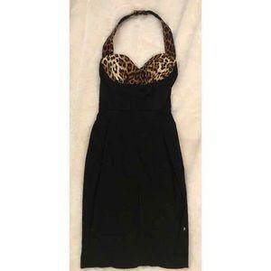 Hot Topic Halter Wiggle Dress